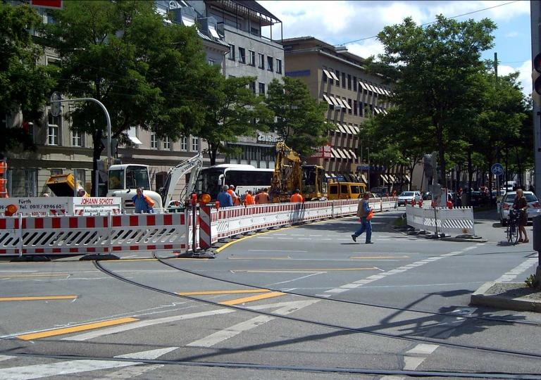 München, Dachauer Str./Stiglmaier Platz